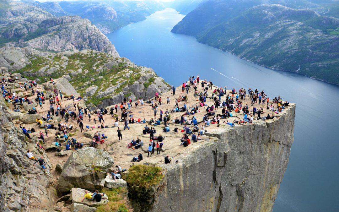 Kjerag and Preikestolen are now certified as Norwegian Scenic Hikes